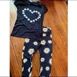 🌼Daisy Top & Legging Set🌼